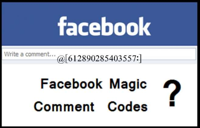 Reality of Facebook Comment Codes