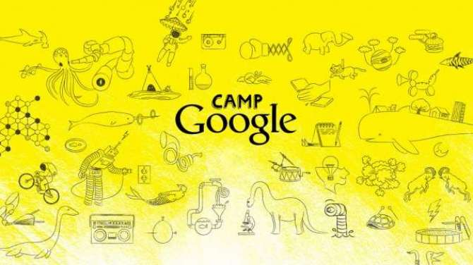 Google latest science camp for kids starts on July 13th