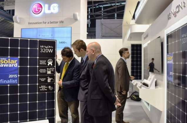 LG announce its latest solar system