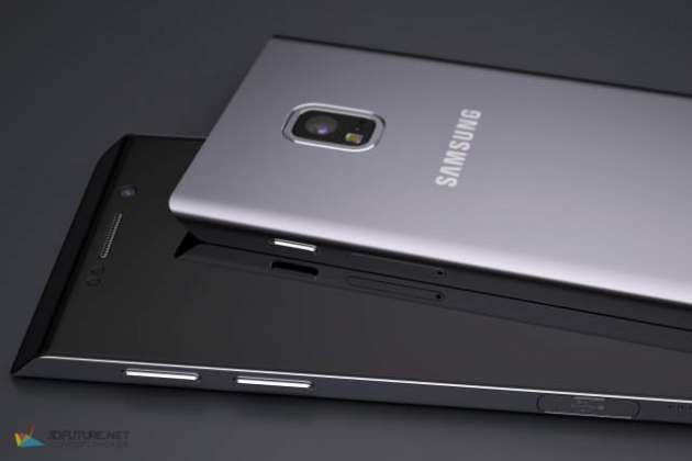 Concept images of Samsung Galaxy S7 Edge 2016