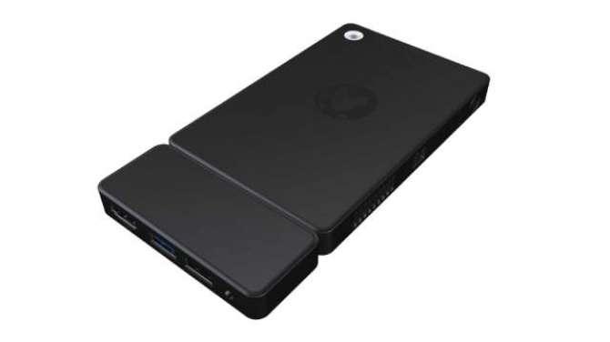 Kangaroo is a portable phone sized Windows 10 desktop