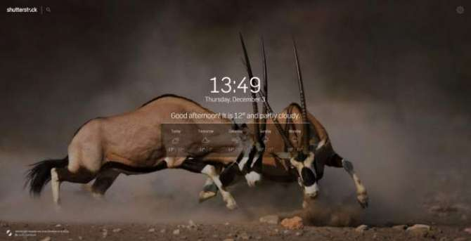 Shutterstock Chrome extension