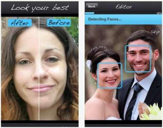 Pixtr Makeover application