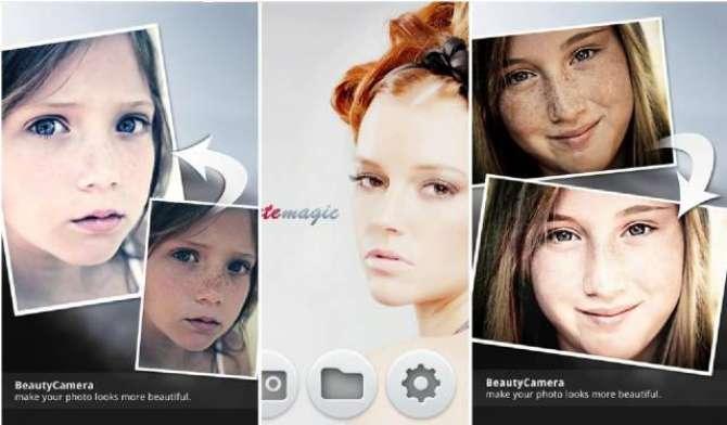 Beauty Camera makeover application