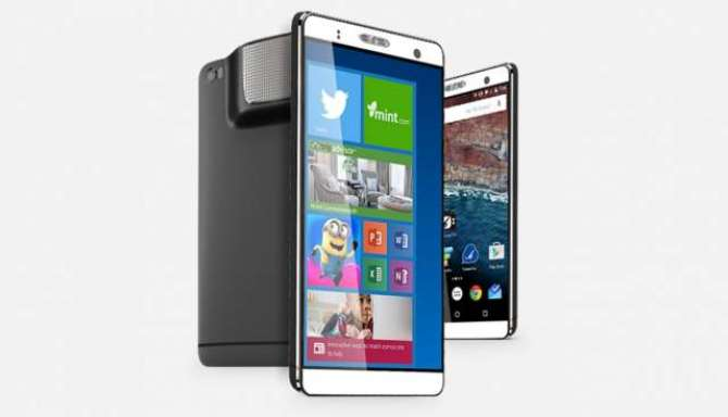 7 inch Frankenphone comes with Android PC Windows and a projector