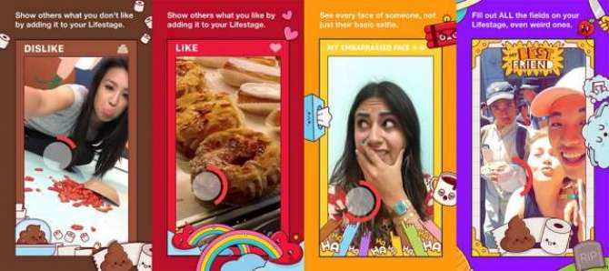 Facebook Lifestage is a video centric social app for teens