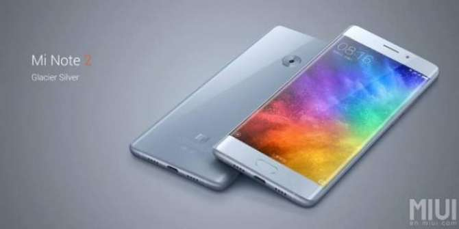 Xiaomi Mi Note 2 is now official