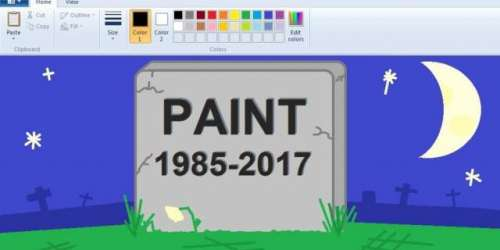 الوداع مائیکروسافٹ پینٹ (1985 ..