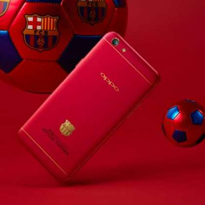 OPPO Announces FC Barcelona Edition F1 Plus