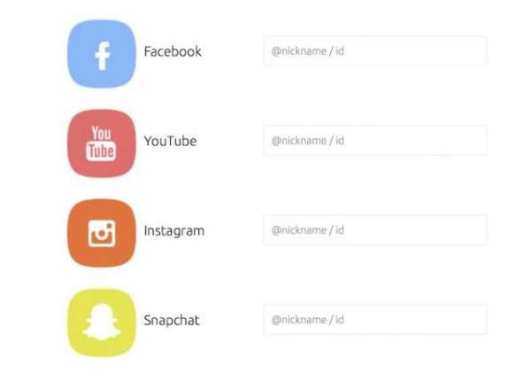 Use one Nickname for all your social networks