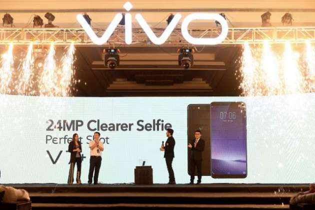 Vivo Unveils V7 Plus at the Glamourous Brand Launch Event in Pakistan
