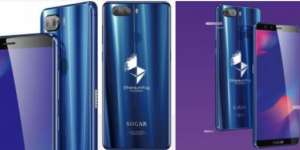 Sugar S11 Blockchain Creation Edition smartphone mines and holds the Ethereum Fog crypto