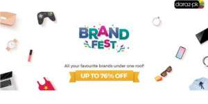 Daraz Brand Fest With Discounts Up to 76 percent OFF Launching on Feb 20th