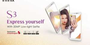 Infinix launches its advanced selfie smartphone S3
