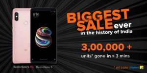 Xiaomi Redmi Note 5 Pro sells out in seconds