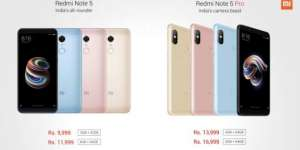 Xiaomi launches Redmi Note 5 and Redmi Note 5 Pro