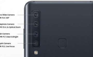 سام سنگ گلیکسی اے 9 (2018) دنیا کا پہلا کواڈ کیمرہ سمارٹ فون ہے