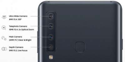 Samsung Galaxy A9 2018 Is The World First Quad Camera Smartphone