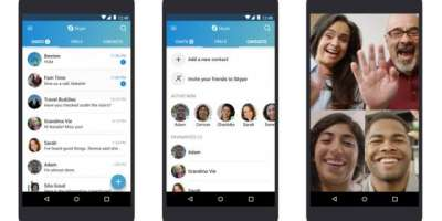 Skype Preview On Android Updated With Call Recording And SMS Support