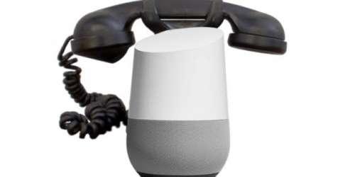 گوگل ہوم اب کال کے دوران ٹچ ٹون ..