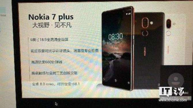 Nokia 7 plus will be the first Nokia with 18:9 screen