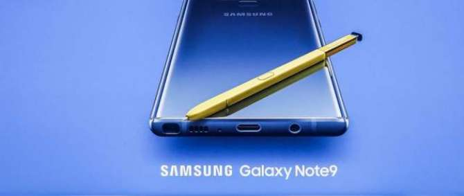 The Samsung Galaxy Note 9 is Here