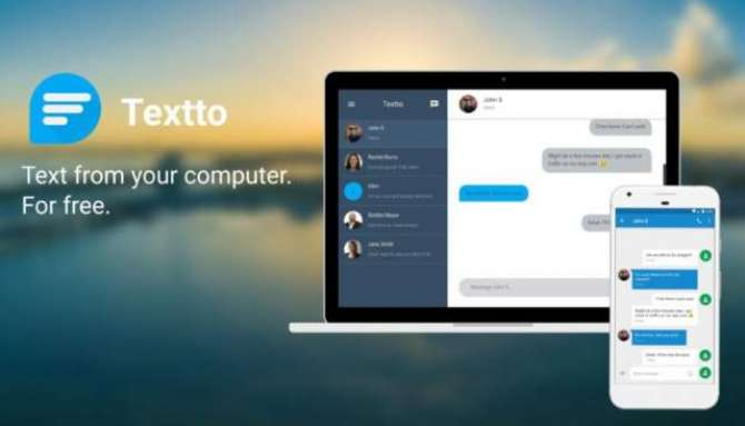 Textto – Text From Your Computer For Free