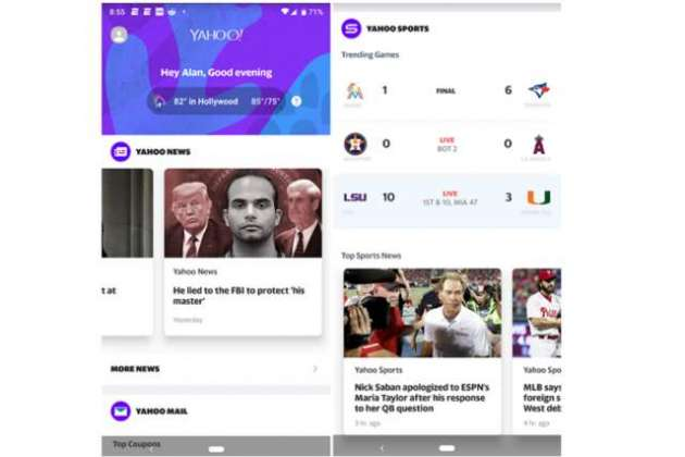 Yahoo releases an all purpose Android app