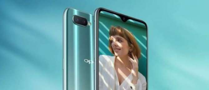 Oppo R15x is official with waterdrop notch UD fingerprint scanner