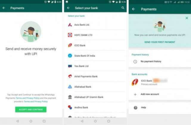 WhatsApp is beta testing p2p mobile payments in India