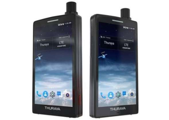 Thuraya X5-Touch is the world's first satellite Android smartphone