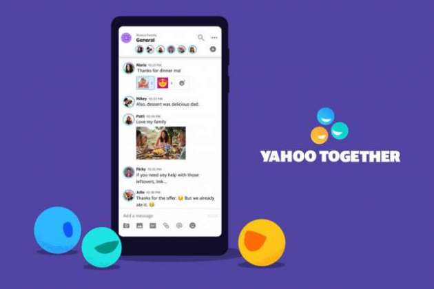 Yahoo debuts new instant messaging app Yahoo Together