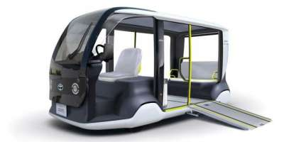Toyota Unveils Electric Shuttles For 2020 Olympic Games In Tokyo