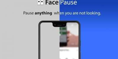 FacePause – This App Pauses Any Video Or Game When You Don't Look At The Screen