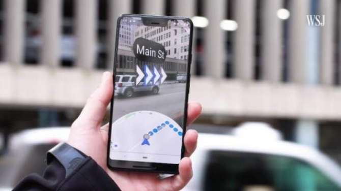 Google Maps AR navigation is now rolling out