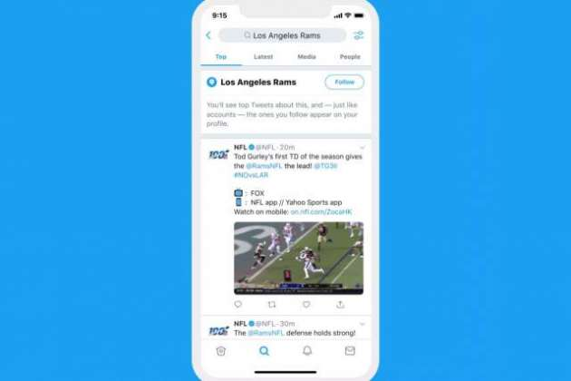 Twitter now lets you follow topics, not just accounts