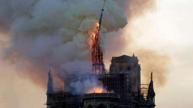 Apple pledges to donate for Notre Dame restorations