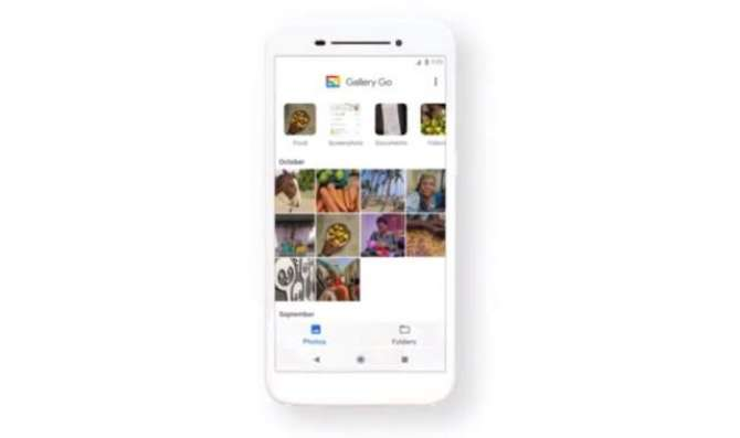 Google Gallery Go is a lightweight, offline Android photo manager