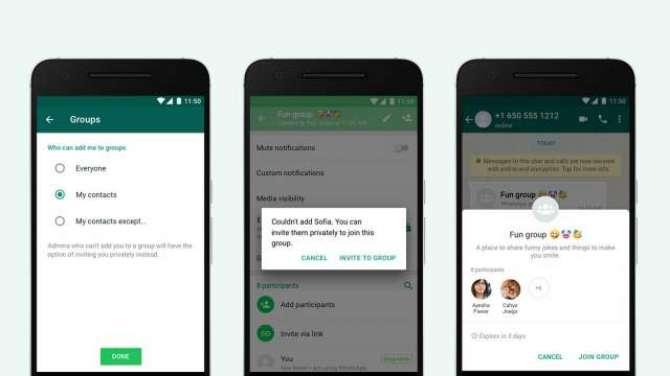 WhatsApp gives you more ways to avoid annoying group chats