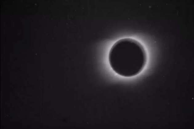 Watch the nearly 120-year-old first recording of a solar eclipse