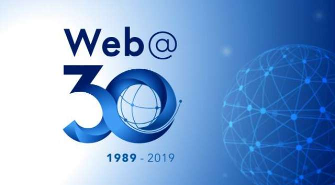 The worldwide web was conceived thirty years ago