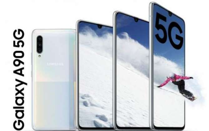 Samsung Galaxy A90 5G goes official: Snapdragon 855 SoC, 48MP camera, 6.7