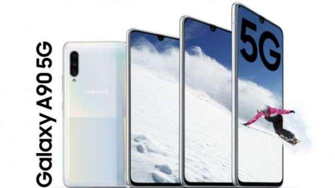 "Samsung Galaxy A90 5G goes official: Snapdragon 855 SoC, 48MP camera, 6.7"" display"