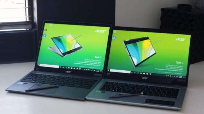 Acer's Spin convertible laptops get 10th-gen Intel chips