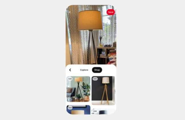 Pinterest's new Lens feature lets you find products based on your photos