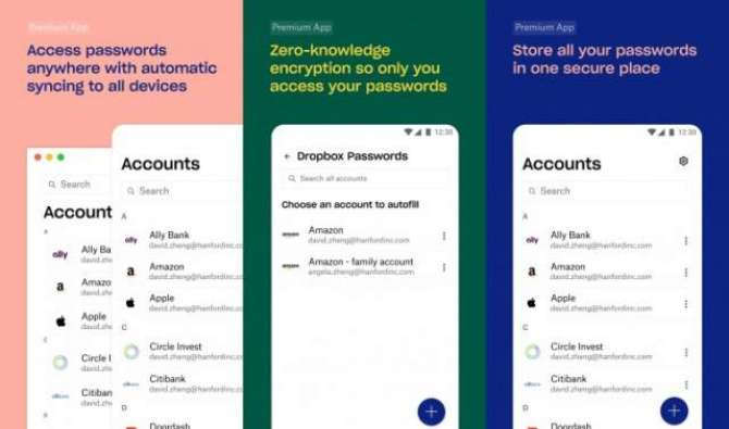 Dropbox Passwords is a password manager from Dropbox