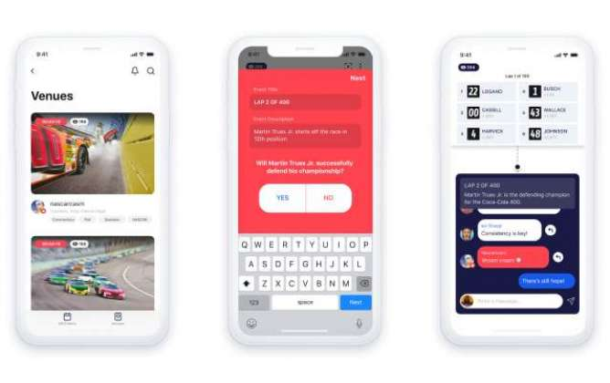 Facebook's new Venue app is an interactive hub for live events