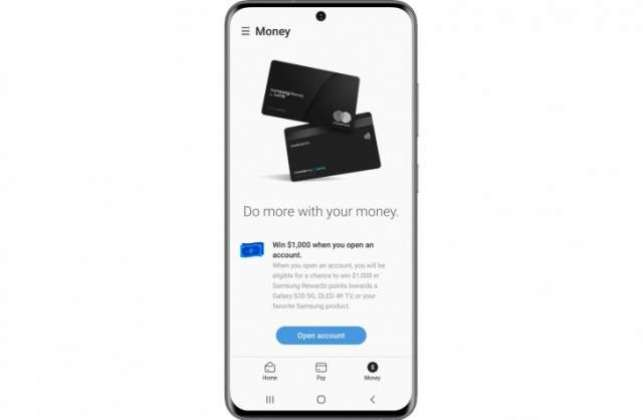 Samsung details its debit card