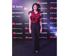 from the huawei launch event last night wearing