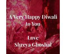 wishing you all a very happy and prosperous diwali. hope your lives are always lit with love, kindness, humility and forgiveness..
